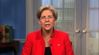 Massachusetts Senator Elizabeth Warren Thumbnail