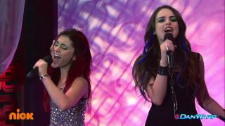 "Ariana Grande and Liz Gillies Sing ""Give It Up!"" 