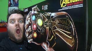 Marvel Legends Infinity Gauntlet Avengers Infinity War Hasbro Toy Unboxing Review