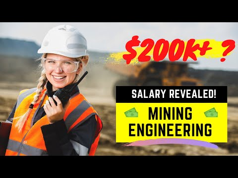 Mining Engineering Salary *REVEALED* | How much do mining engineers make in Canada?