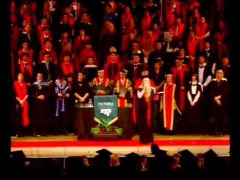 Victoria University of Wellington - Gaudeamus - Graduation May 2012
