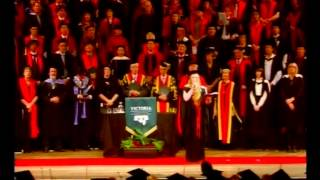 Victoria University of Wellington - Gaudeamus - Graduation May 2012