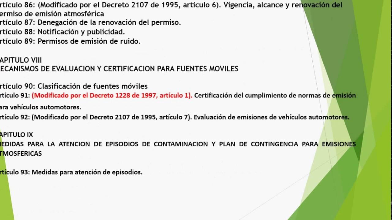 DECRETO 948 DE 1995 EBOOK