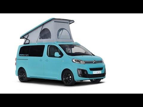 p ssl campster camper van based on citro n spacetourer. Black Bedroom Furniture Sets. Home Design Ideas