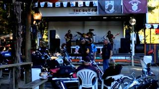 """Major Bacon performs """"Highway 61"""" at The Outpost for Bikers in Freeport, Fla."""