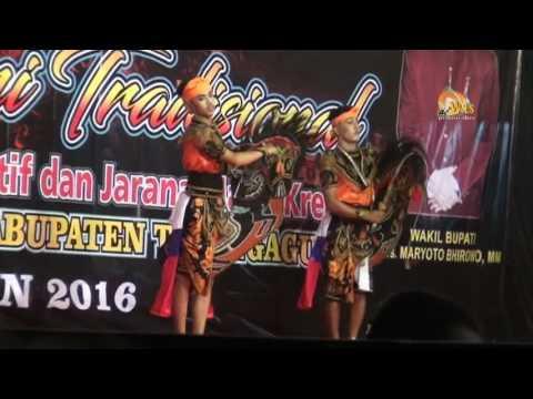 jaranan kuda manggala # penyaji terbaik Festival seni tradisional Jaranan Kreatif Tulungagung 2016