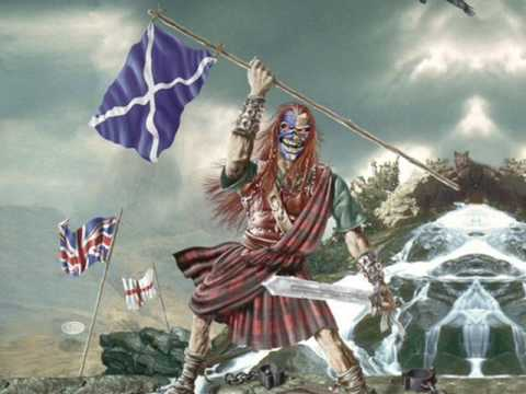 Клип Iron Maiden - The Clansman
