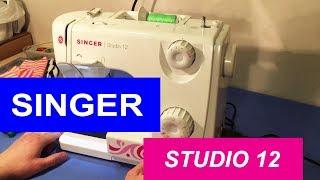 Швейна машина Singer Studio 12. Огляд і тест драйв
