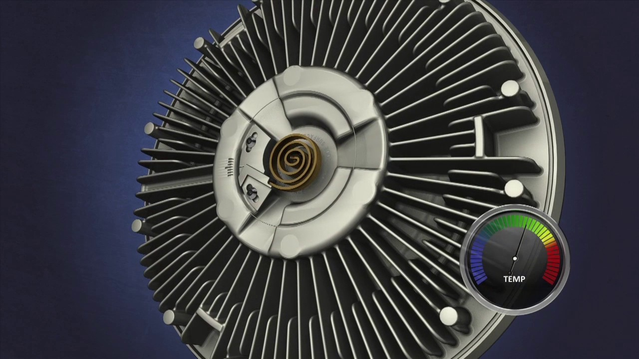 how does a viscous fan clutch work  [ 1280 x 720 Pixel ]