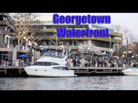 Georgetown Waterfront Park ( Washington, DC ) HD Tour