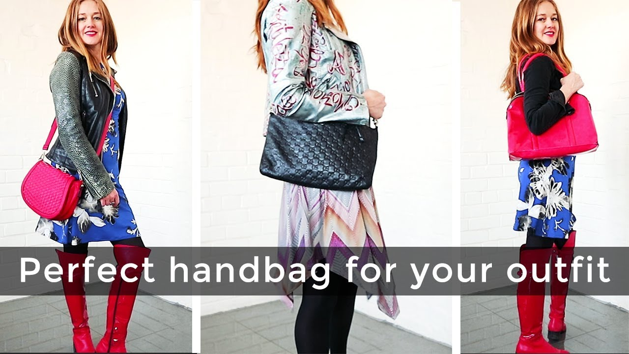 How to pick the right handbag for an outfit for women over ...