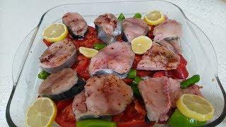 FIRINDA PALAMUT  Nasıl Pişirilir / kolay ve lezzetli palamut tarifi