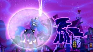 La Princesa Luna Perdona A Nightmare Moon || Las Princesas Sueñan Con Magia? 05x13