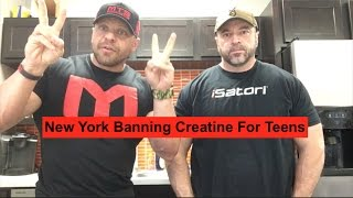 Creatine Banned? New York Legislature Proposes New Law | Tiger Fitness
