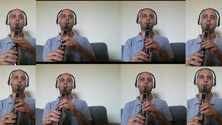 Tom And Jerry Music by 8 Clarinets