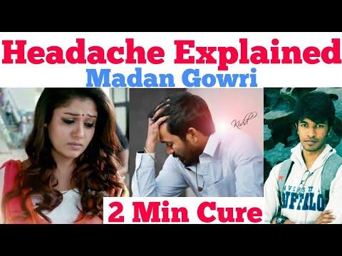 Headache Explained | Cure | Tamil | Madan Gowri | MG