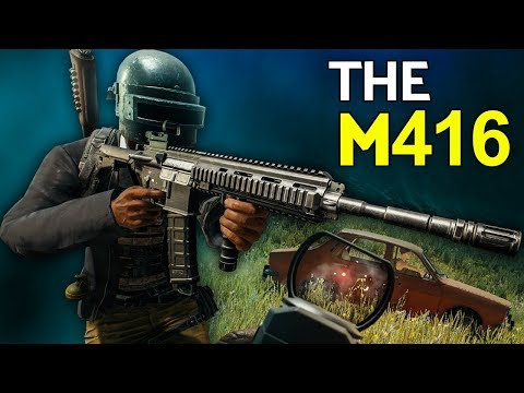 PUBG | The M416 - The Best AR?
