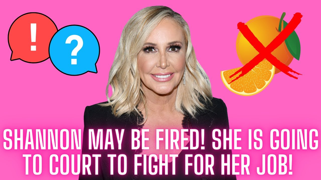 Shannon May Be Fired As She Is Going To Court Now To Defend Her Job!  Producers Weigh In!