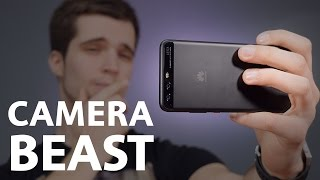 "Huawei P10 Camera Review - The BEST 5,1"" Smartphone CAMERA 2017!"