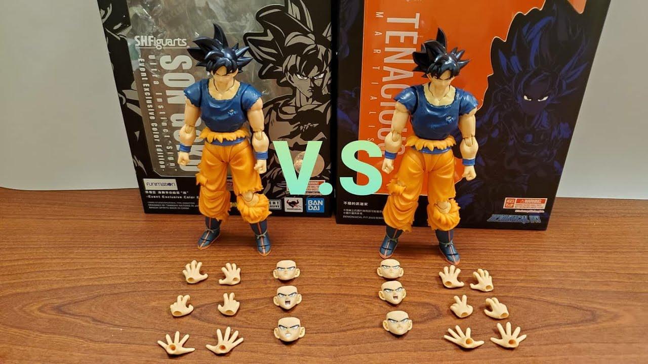 Demoniacal Fit Possessed Horse Tenacious Martialist Ultra Instinct Blue UI Goku