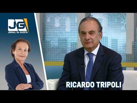 Ricardo Tripoli, candidato ao Senado (PSDB/SP), fala sobre as eleições