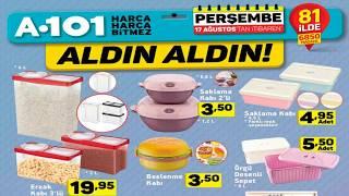 A101 17 Ağustos 2017 | Satılacak Olan Ev Gereçleri #A101 ALDIN ALDIN Fırsat Ürünleri