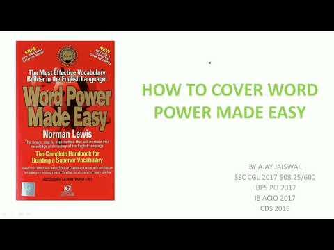 English Word Power Made Easy Pdf