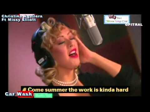 Christina Aguilera Missy Elliott Car Wash