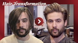 HAIR TRANSFORMATION: Long to Medium Hair | First Haircut in 6 months