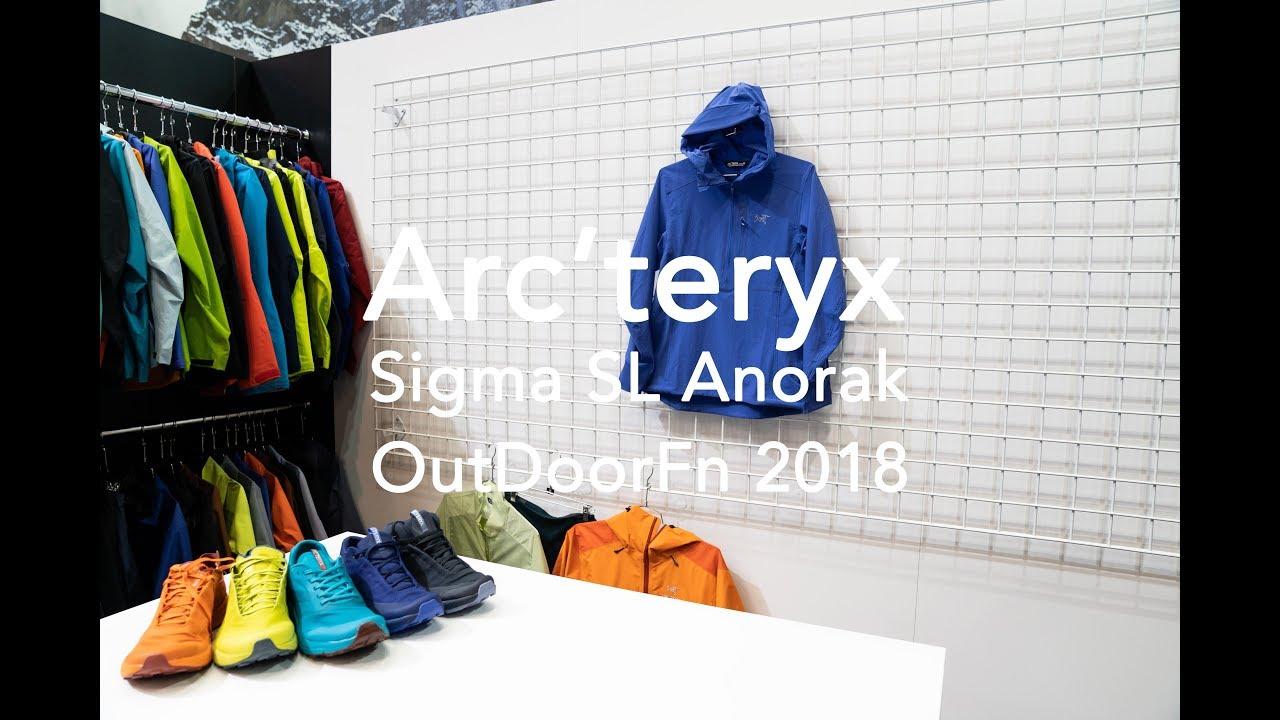 0c0b22d4aa Arc'teryx Sigma SL Anorak | #OutDoorFN 2018 Gear News - YouTube