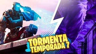 **TEMPORADA 7** QUÉ ESCONDE LA TORMENTA DE FORTNITE!?