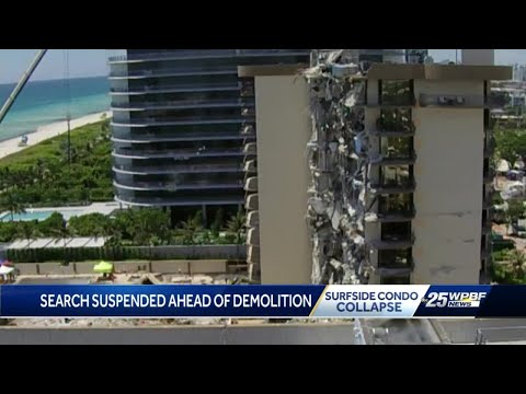 Latest on upcoming demolition of remainder of Champlain Towers South