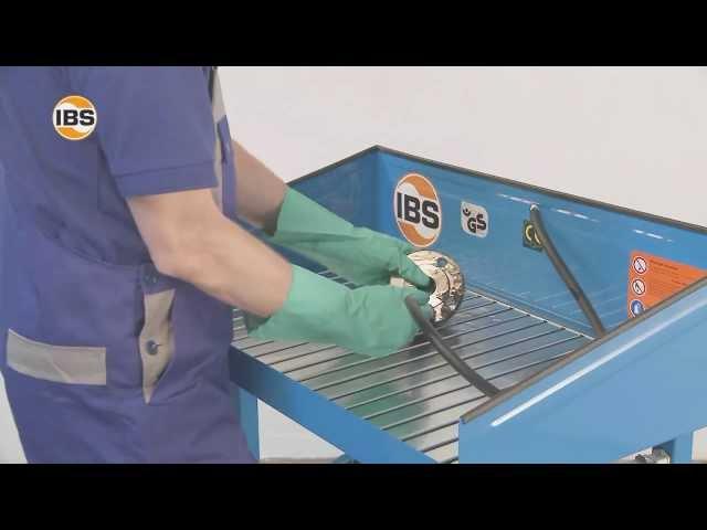 IBS Teilereinigungsgerät fahrbar