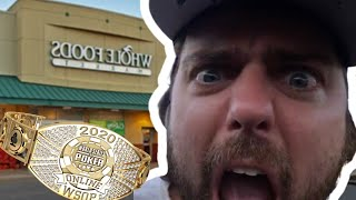 "Ryan DePaulo ""Degenerate Gambler"" Wins WSOP Bracelet in Whole Foods Lot"