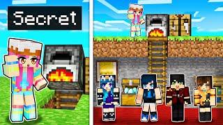 Our SECRET Minecraft Base in Krewcraft!