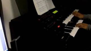 岡本真夜の「TOMORROW」をエレクトーンで演奏しました。