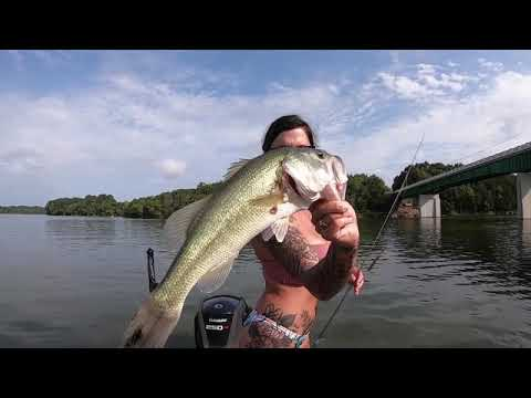BASS FISHING In NASHVILLE, TN On Percy Priest Lake!