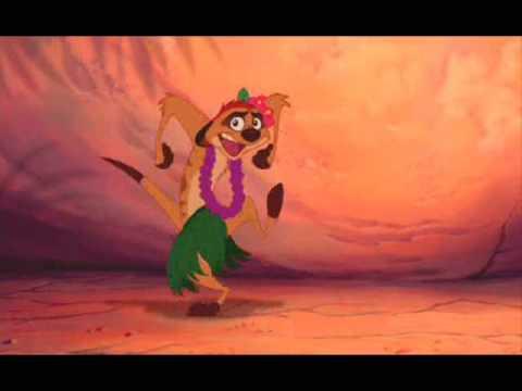 Krol Lew - Taniec Hula