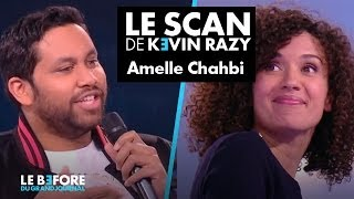 Amelle Chahbi  et Noom -  Le scan de Kevin Razy - Le Before du Grand Journal