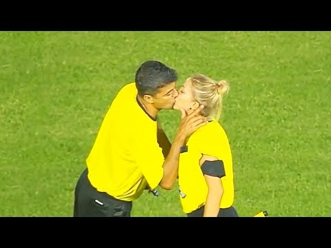 10 CRAZIEST KISSES IN SPORTS HISTORY