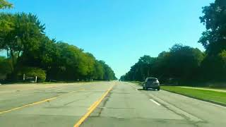 Driving to Hazel Park, Michigan from Southfield, Michigan