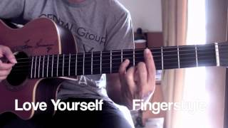 Love Yourself Justin Bieber Fingerstyle By Toeyguitaree Tabs