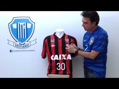 Atlético Paranaense 2014 Adriano - Vestiário - Iuri Godinho