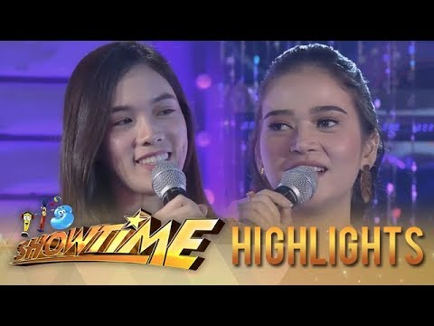 """It's Showtime: """"Ate Girl"""" Jackque asks for the state of Bela's heart"""