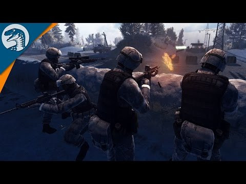 US MARINES BATTLE RUSSIAN MARINES   WW3 MOD   Call to Arms [MOD] Gameplay