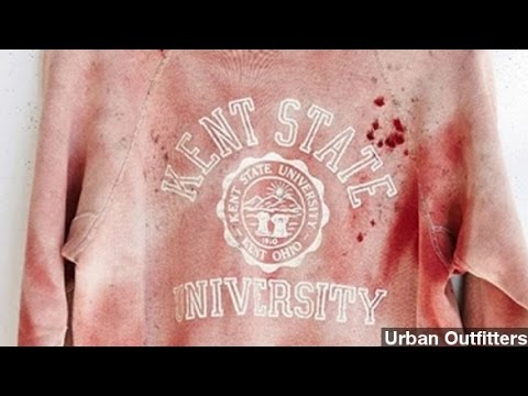 Kent State Mad Over 'Bloody' Urban Outfitters Sweatshirt