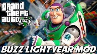 GTA V – Buzz Lightyear Toy Story MOD