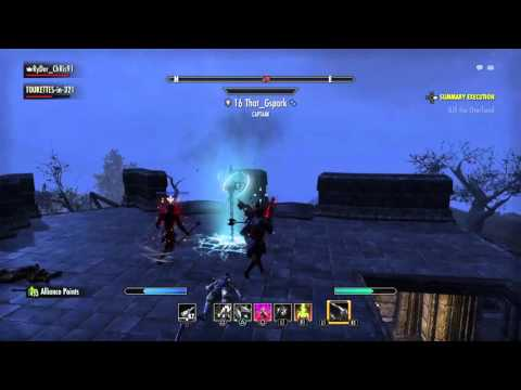 ESO Stamina & Magicka Nightblades Vs Small Group