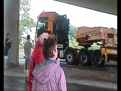 Schwertransport Wilhelmshaven 15 08 10
