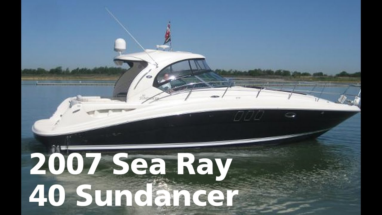2007 Sea Ray 40 Sundancer Boat For Sale At Marinemax Dallas